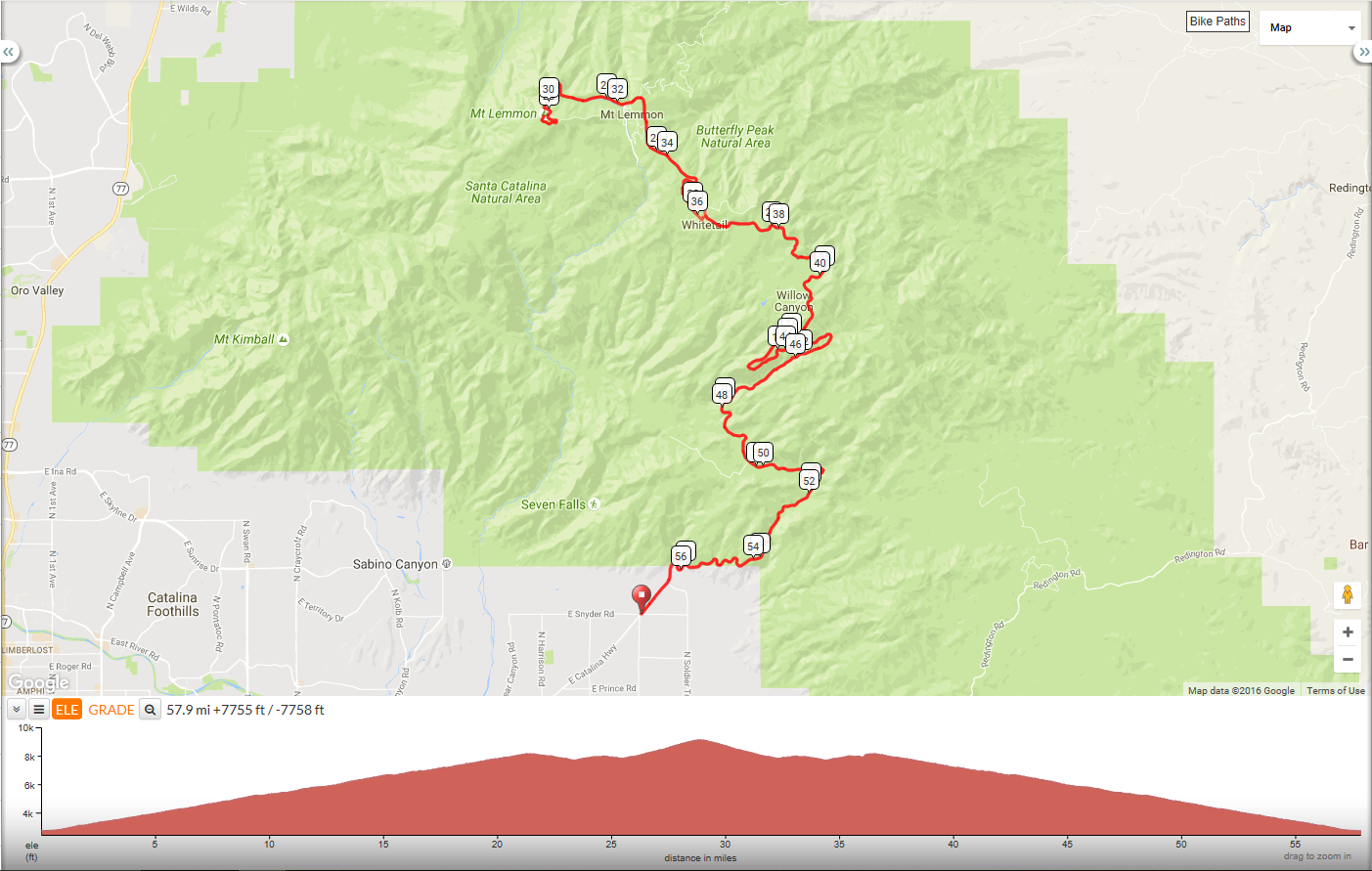 mt-lemmon-map